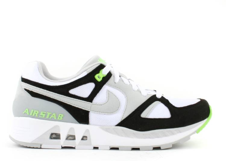 sobresalir negro T  Air Stab 'Neutral Grey Electric Green' - Nike - 312451 141 - white/neutral  grey/black/electric green   Flight Club