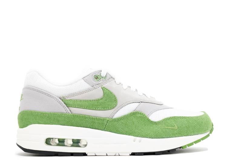 Patta X Air Max 1 Premium 'Chlorophyll' - Nike - 366379 100 ...