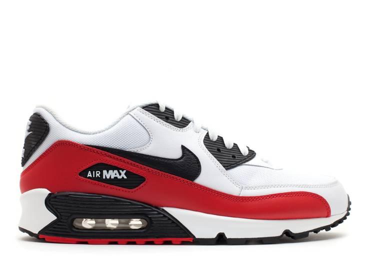 Air Max 90 Nike 325018 602 Sport Red Black White Flight Club