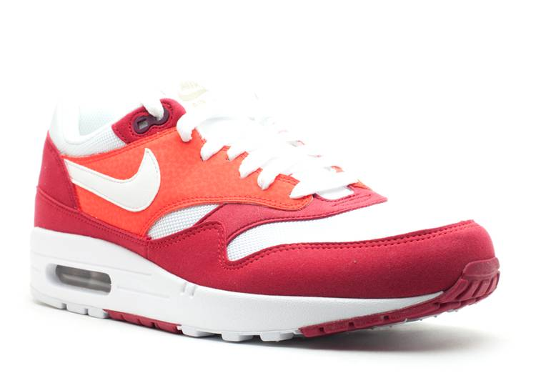 air max 1 red white brown
