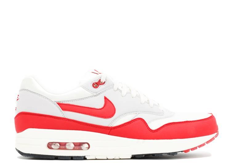 Pasivo proteger proporción  Air Max 1 OG 'Vintage' - Nike - 554717 160 - sail/university red/neutral  grey/black | Flight Club