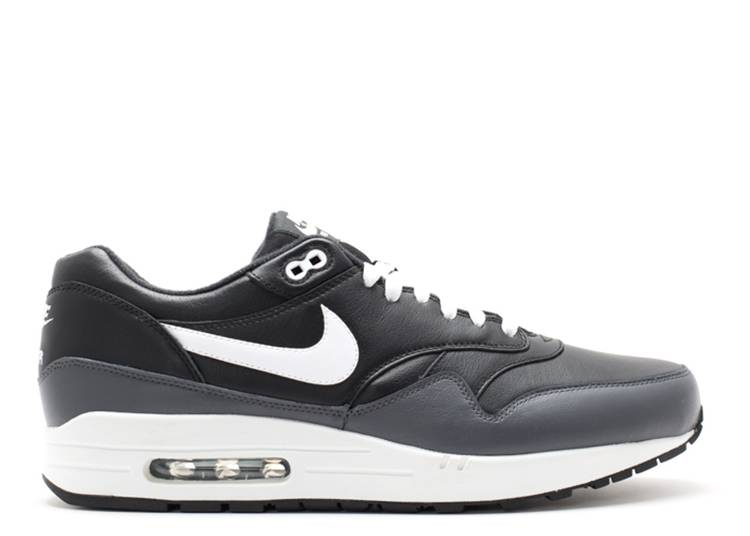 Air Max 1 Leather 'Black Grey White'
