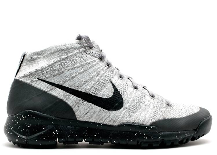 Flyknit Trainer Chukka FSB 'Light Charcoal' - Nike - 625009 ...