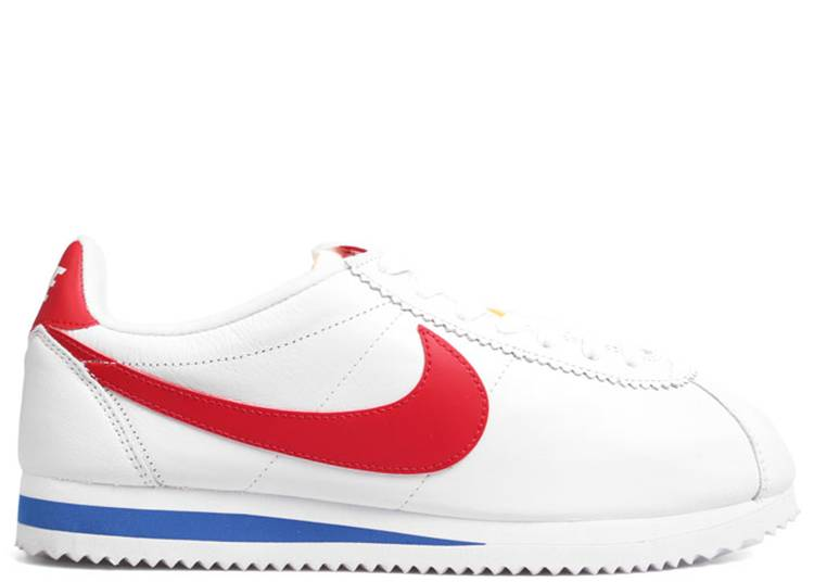 Estrecho de Bering Retorcido Defectuoso  Classic Cortez Premium QS 'Forrest Gump' - Nike - 724262 184 -  white/varsity red-varsity royal | Flight Club