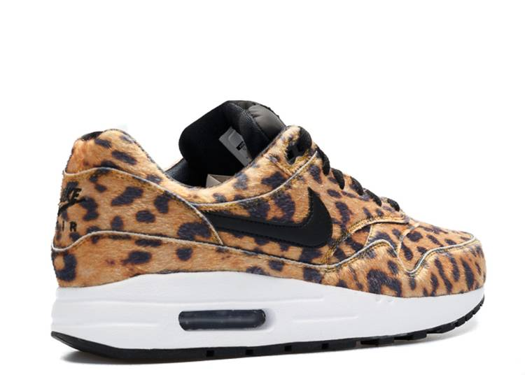 air max 1 black gold leopard