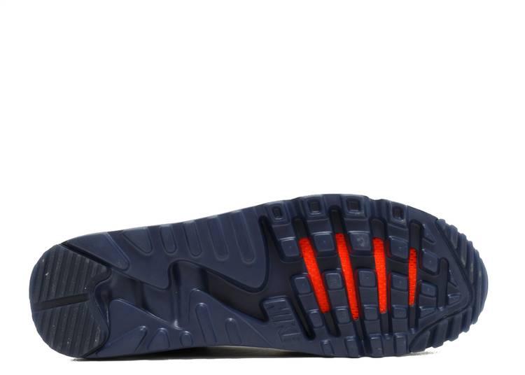 Air Max 90 Ultra BR 'Midnight Navy' - Nike - 725222 401 - midnight ...