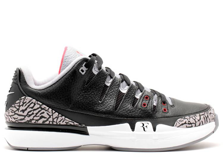 Zoom Vapor Tour AJ3 'Black White'