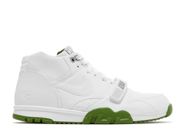 "Fragment Design x Air Trainer 1 Mid SP 'White Chlorophyll' ""White Chlorophyll"""