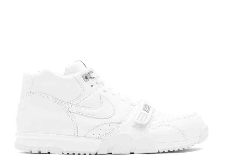 Air Trainer 1 Mid SP/ Fragment 'White Wolf Grey'