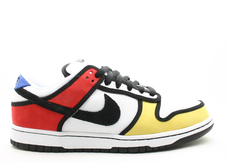 dunk low pro sb 'Piet Mondrian'