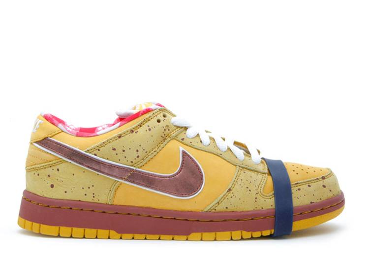 dunk low premium sb 'yellow lobster'