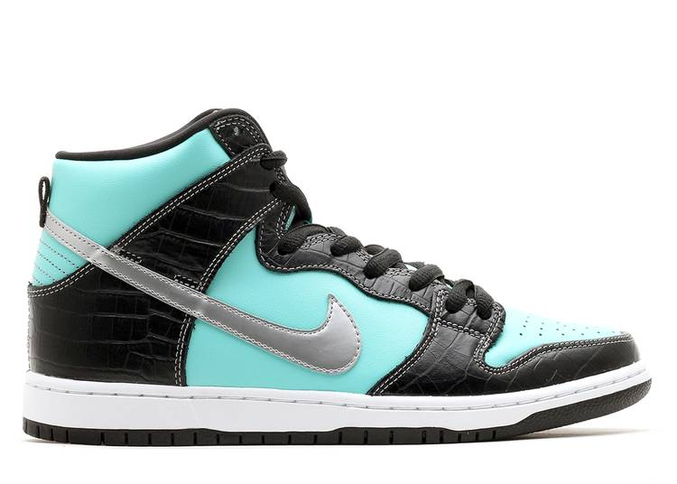 dunk high prm sb 'diamond'