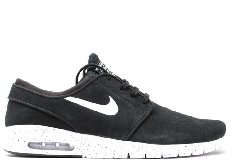 Cantina Patriótico Perforar  Stefan Janoski Max Leather 'Black White' - Nike - 685299 002 - black/white  | Flight Club