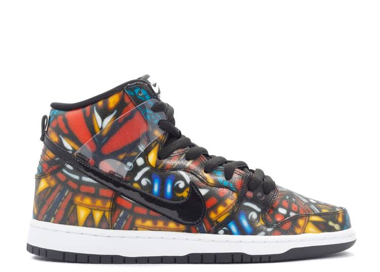 """dunk high premium sb """"stained glass"""""""