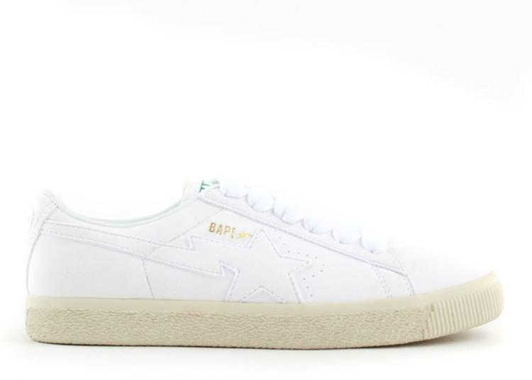 Bapesta FS-005 Low 'White White'