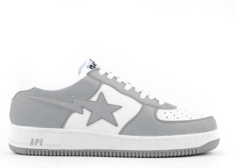 Bapesta FS-001 Low 'White Reflector'