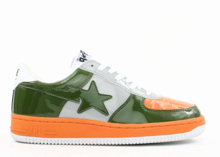 Bapesta FS-001 Low 'Orange Green'