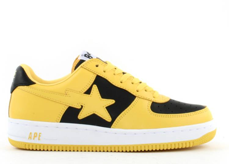 Bapesta FS-001 Low 'Yellow Black'