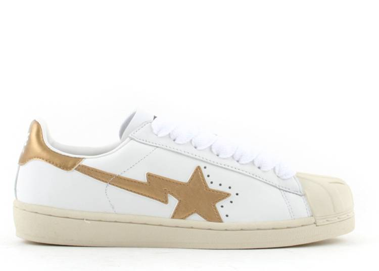 Bapesta FS-004 Low 'White Gold'