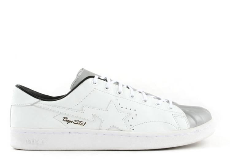 Bapesta FS-021 Low 'Silver Black'