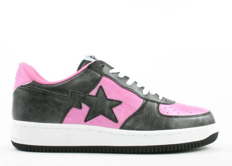 U.N.K.L.E. x Bapesta FS-001 Low 'Un-U.N.K.L.E. - Black Pink'