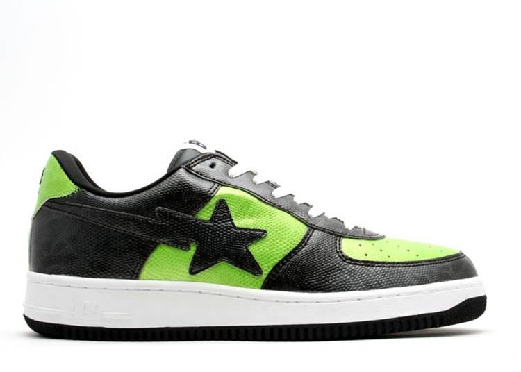 U.N.K.L.E. x Bapesta FS-001 Low 'Un-U.N.K.L.E. - Black Green'