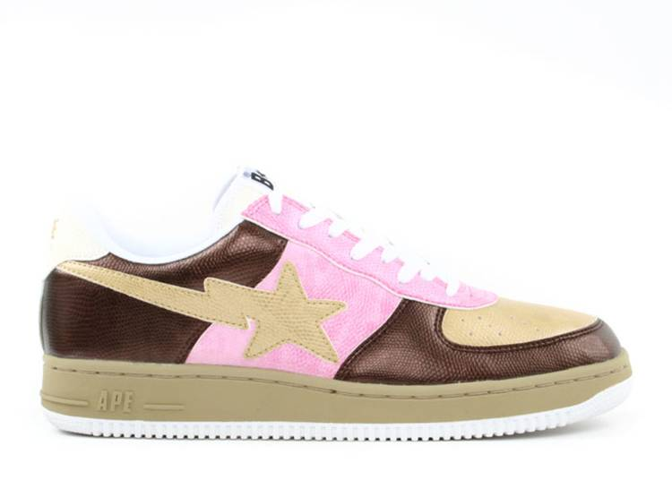 Bapesta FS-001 Low 'Coffee Brown'