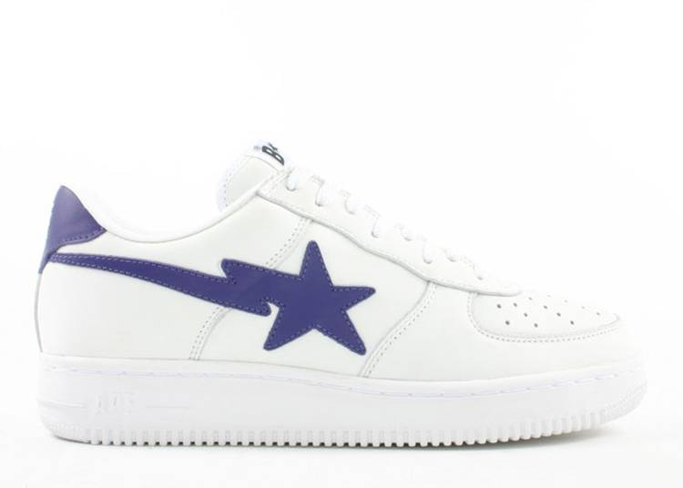 Bapesta FS-001 Low 'White Purple'