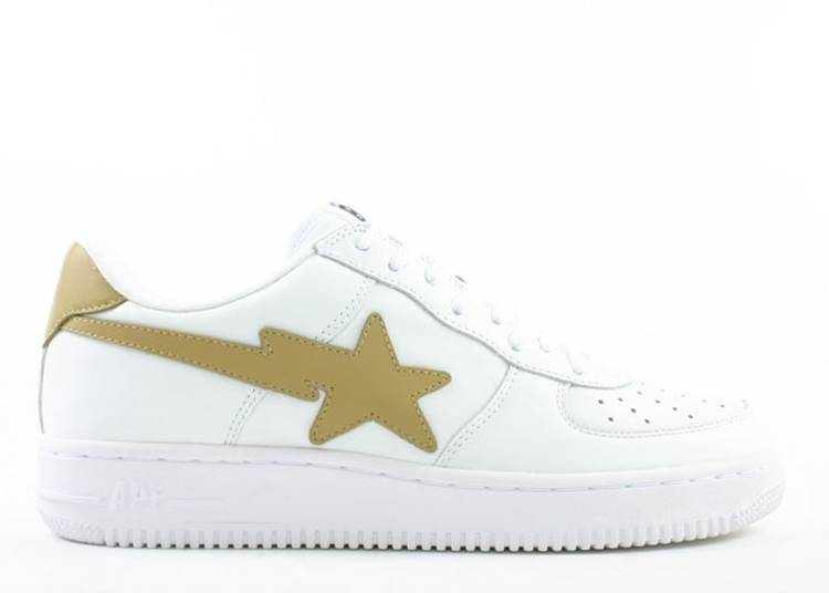 Bapesta FS-001 Low 'White Beige'