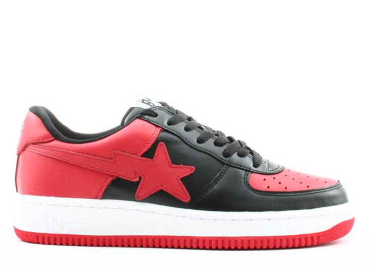 Bapesta FS-001 Low 'Black Red'