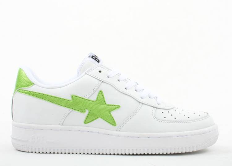Bapesta FS-001 Low 'White Green'