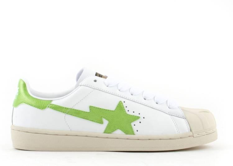 Bapesta FS-004 Low 'White Green'