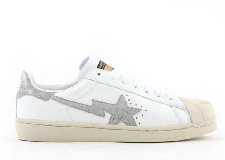 Bapesta FS-004 Low 'White Gray'