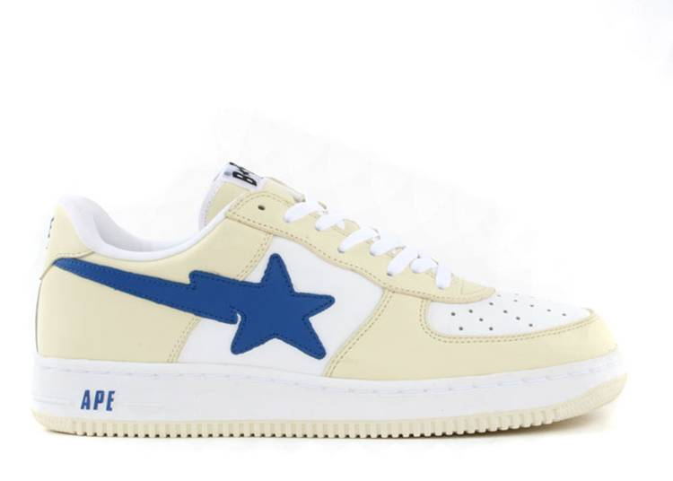 Bapesta FS-001 Low 'White Blue'