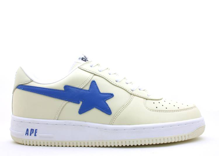 Bapesta FS-001 Low 'Cream Blue'