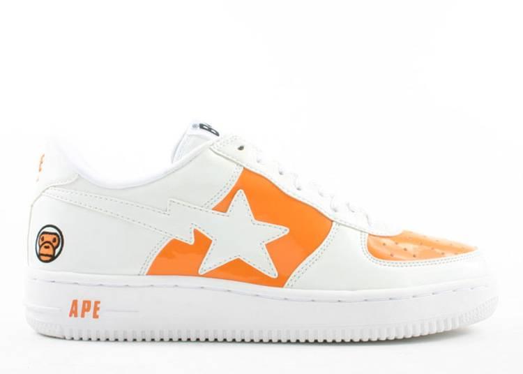 Bapesta FS-001 Low 'White Orange'