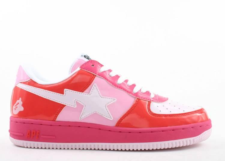Bapesta FS-001 Low 'Red Pink'
