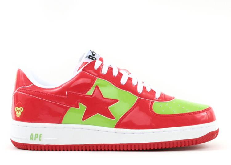 Bapesta FS-001 Low 'Baby Milo - Red Green'