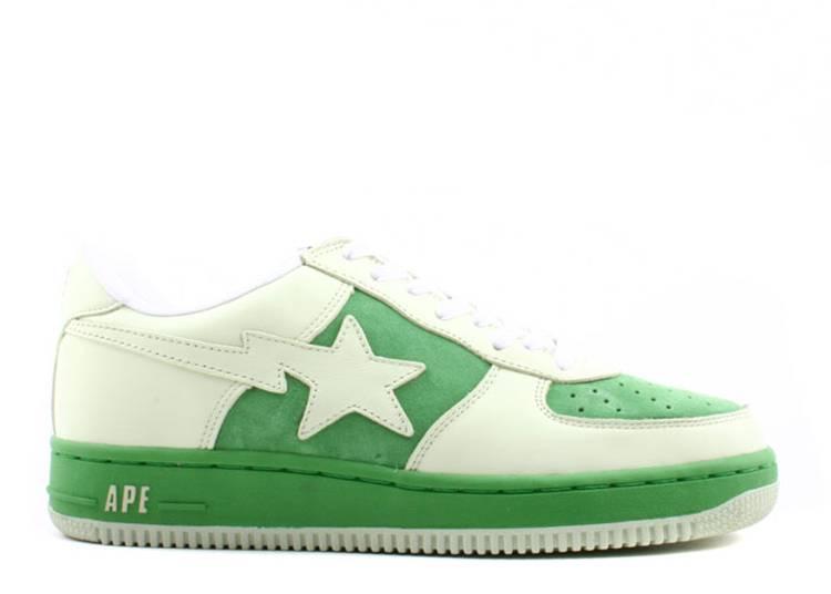 Bapesta FS-001 Low 'White Green'
