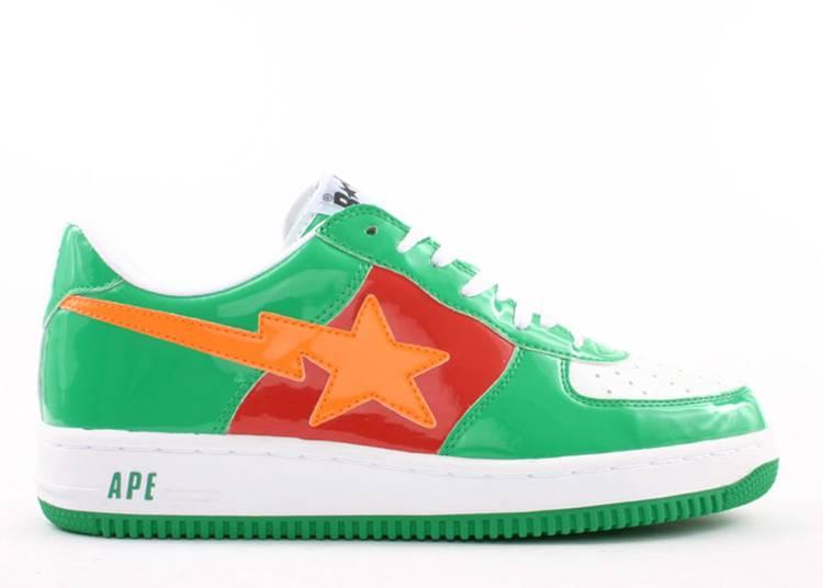 Bapesta FS-001 Low 'Green Orange Red'