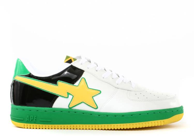Bapesta FS-001 Low 'Masterpiece - Yellow Green'