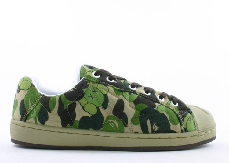 Skullsta FS-020 Low 'Green Camo'