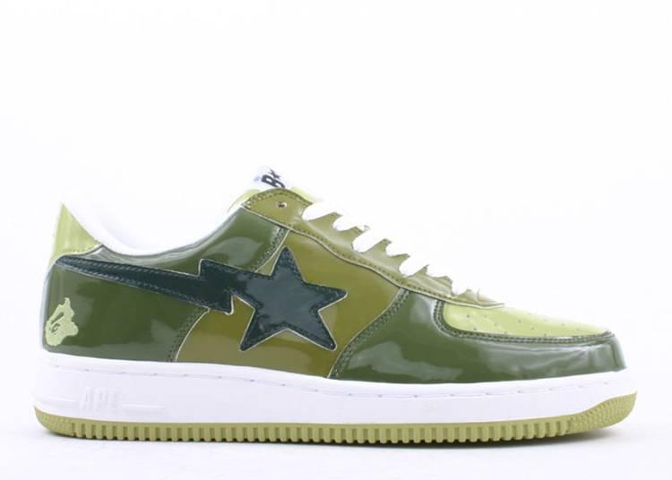Bapesta FS-001 Low 'Army Green'