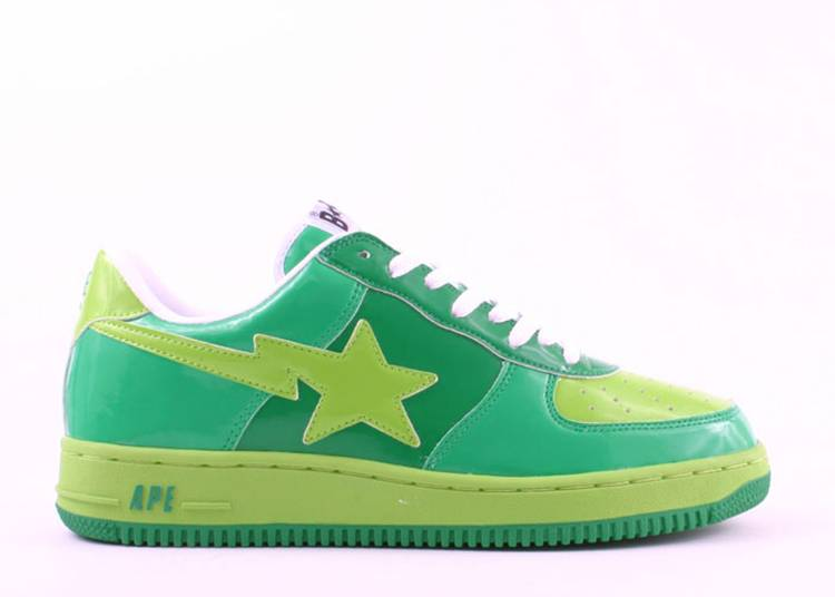 Bapesta FS-001 Low 'Green'