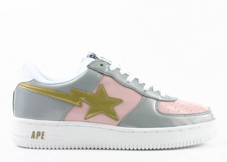 Bapesta FS-001 Low 'Pink Grey'