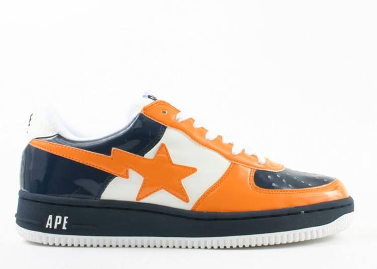 Bapesta FS-001 Low 'Navy Orange'