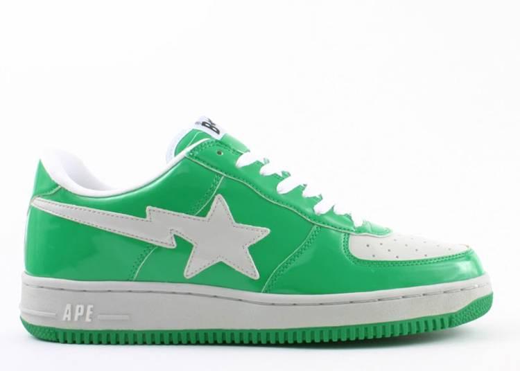 Bapesta FS-001 Low 'Green Grey'