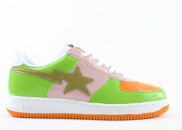 Bapesta FS-001 Low 'Green Pink'