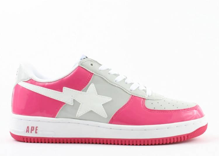 Bapesta FS-001 Low 'Pink Grey'