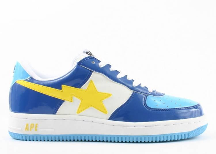Bapesta FS-001 Low 'Navy Blue Yellow'